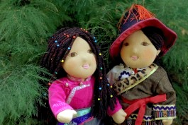 Our Amdo dolls