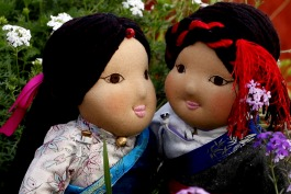 A selection of our Khampa dolls