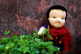 Lobsang our monk doll
