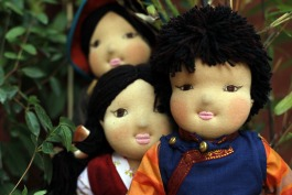 A selection of our U-Tsang dolls