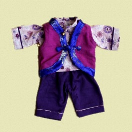 Tibetan Style Waistcoat, Shirt and Trousers