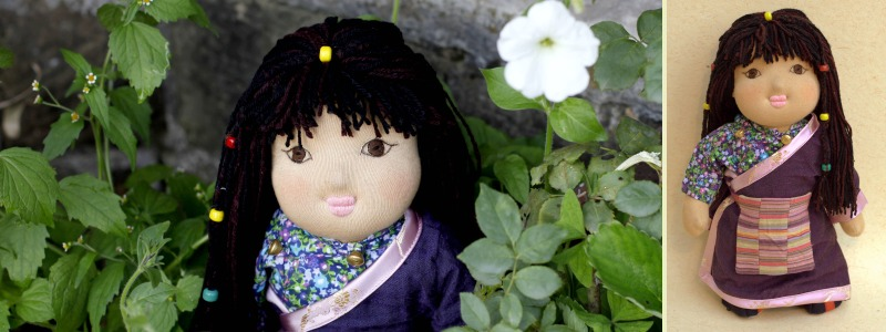 Sonam - Traditional Tibetan Bopa Doll