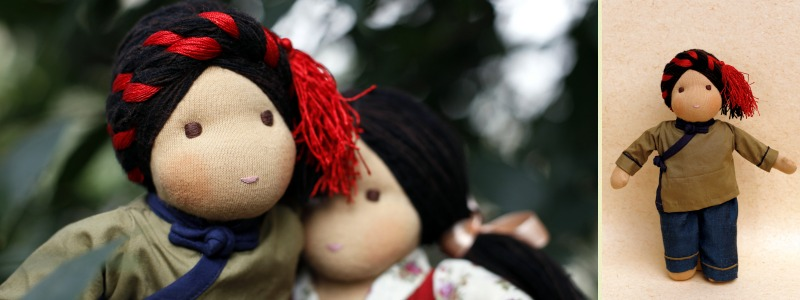 Norbu - Steiner-Inspired Tibetan Friendship Doll