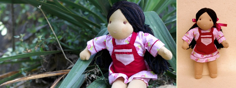 Anna - Steiner-Inspired Global Friendship Doll