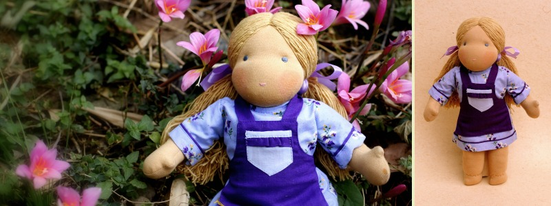 Marie - Steiner-Inspired Global Friendship Doll