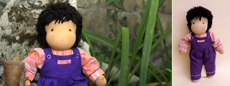 Tommy - Steiner-Inspired Global Friendship Doll