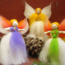 Standing Himalayan Angels