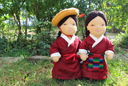Our Kyirong dolls