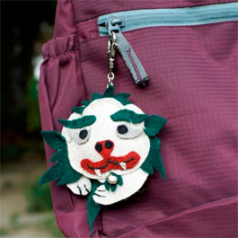 Snow Lion Bag Clip