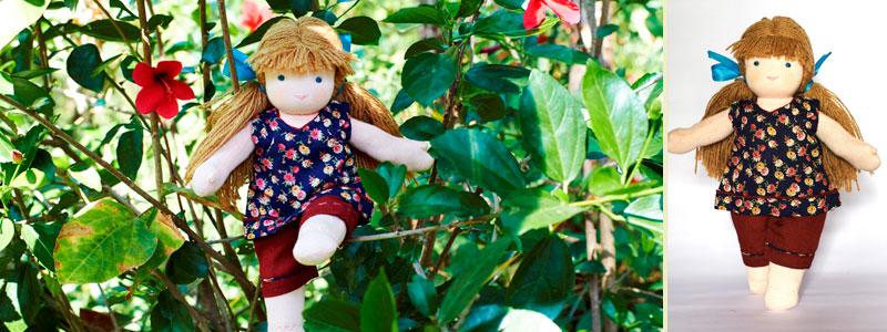 Kerry - Steiner-Inspired Global Friendship Doll