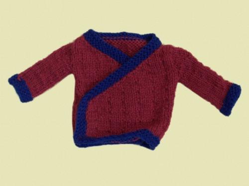 Tibetan Jacket - Knitted Garment
