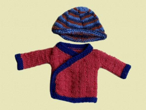 Woolen Hat & Tibetan Style Jacket
