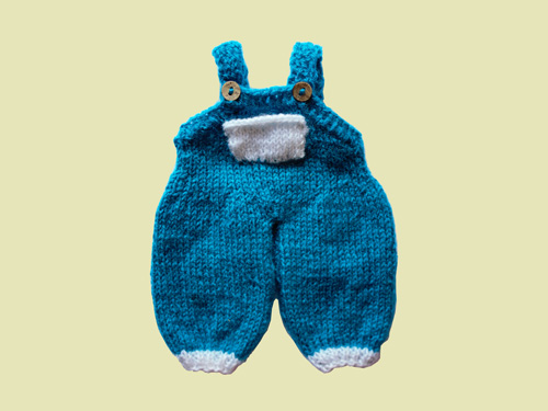 Dungaree - Knitted Garment