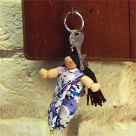 Keychain dolls