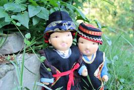 Our Kongpo dolls
