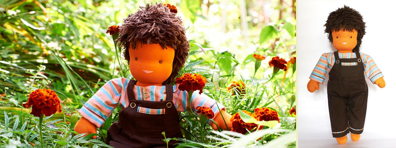 Benny - Steiner-Inspired Global Friendship Doll