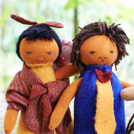 Global Family Puppets