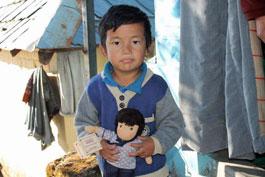 Kampa boy in Dharamsala