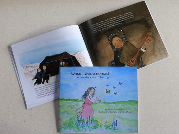 An illustrated story book for children, 4-9 years old