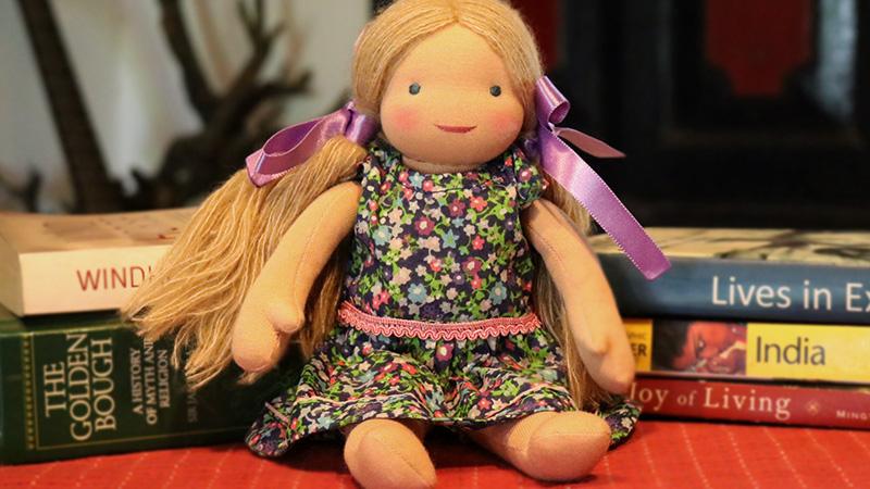 Lilly - Steiner-Inspired Global Friendship Doll
