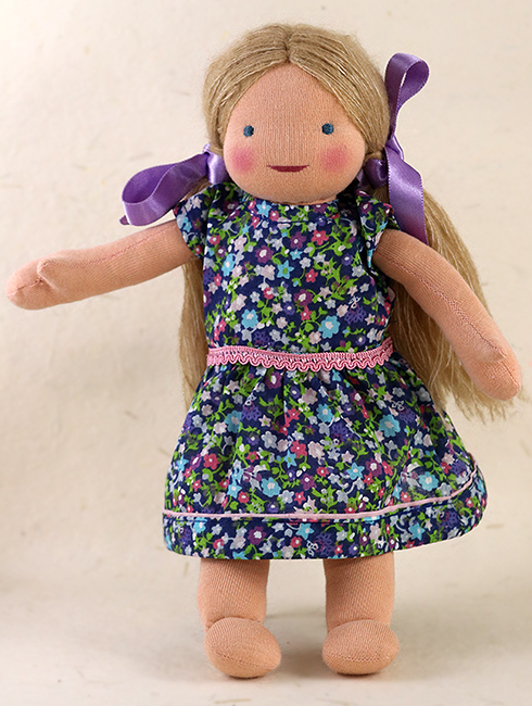 Lilly Front - Steiner-Inspired Global Friendship Doll