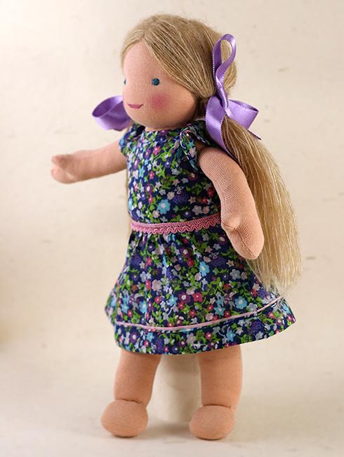 Lilly Side - Steiner-Inspired Global Friendship Doll