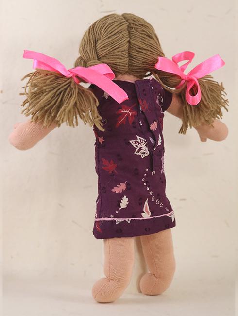 Lisa Back - Steiner-Inspired Global Friendship Doll