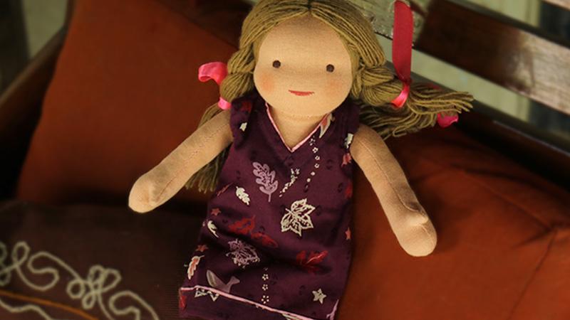 Lisa - Steiner-Inspired Global Friendship Doll