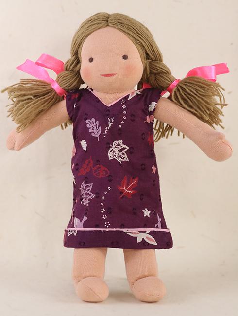 Lisa Front - Steiner-Inspired Global Friendship Doll